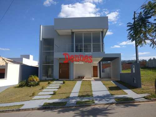 Casa de Condomínio, código 377 em Bragança Paulista, bairro Condomínio Villa Real de Bragança
