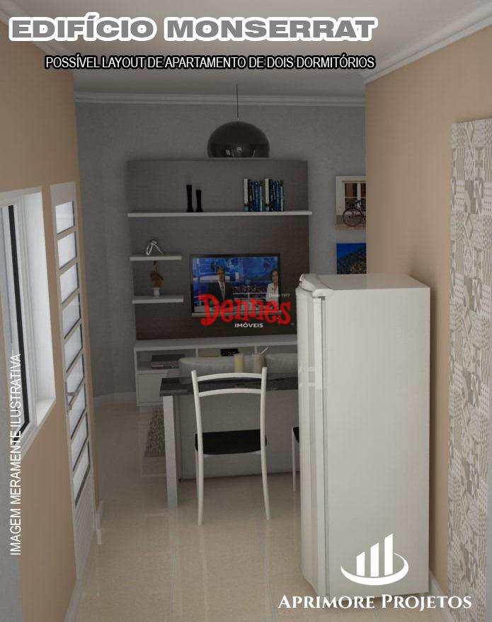 Apartamento em Bragança Paulista, bairro Jardim Novo Mundo