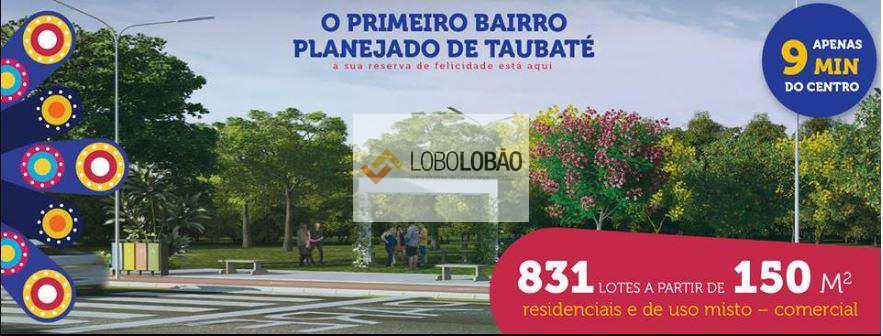 Loteamento em Taubaté, bairro Vila Areao