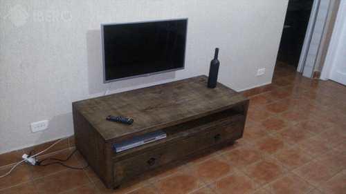 Apartamento, código 636 em Praia Grande, bairro Guilhermina