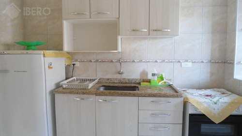 Apartamento, código 594 em Praia Grande, bairro Mirim