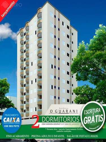 Apartamento, código 419 em Praia Grande, bairro Ocian
