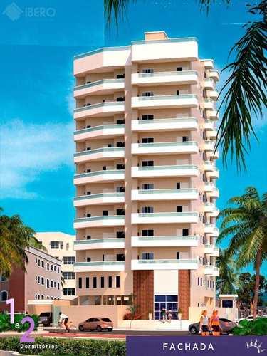 Apartamento, código 414 em Praia Grande, bairro Balneário Ipanema Mirim