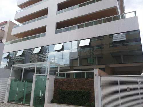 Apartamento, código 172 em Praia Grande, bairro Guilhermina