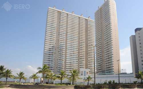 Apartamento, código 724 em Praia Grande, bairro Mirim