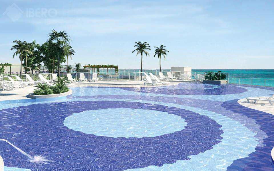 Apartamento com 3 dorms mirim praia grande 91m for K sol piscinas