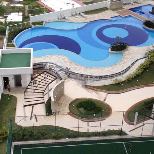 Apartamento, código 726 em Praia Grande, bairro Mirim
