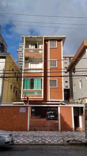 Apartamento, código 1605 em Santos, bairro Gonzaga