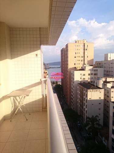 Apartamento, código 409 em São Vicente, bairro Centro
