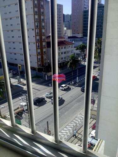 Apartamento, código 556 em São Vicente, bairro Boa Vista