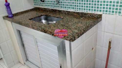 Sala Living, código 398 em São Vicente, bairro Centro