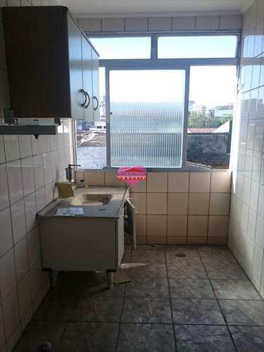 Kitnet, código 342 em São Vicente, bairro Centro