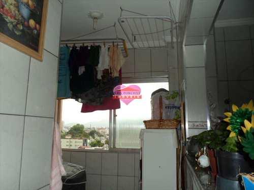 Apartamento, código 266 em São Vicente, bairro Jardim Guassu