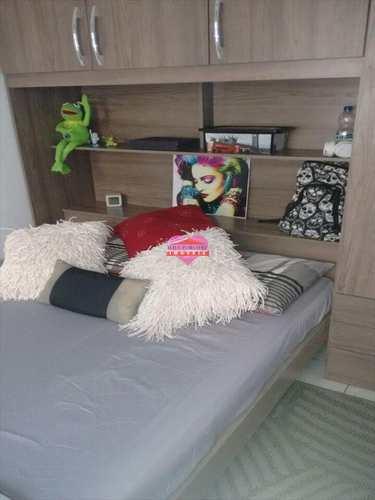 Sala Living, código 261 em São Vicente, bairro Centro