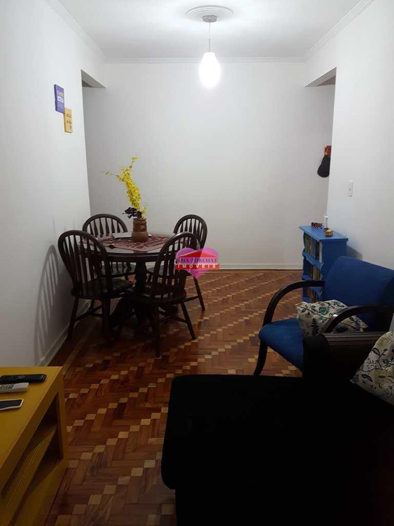 Apartamento em São Vicente, bairro Centro