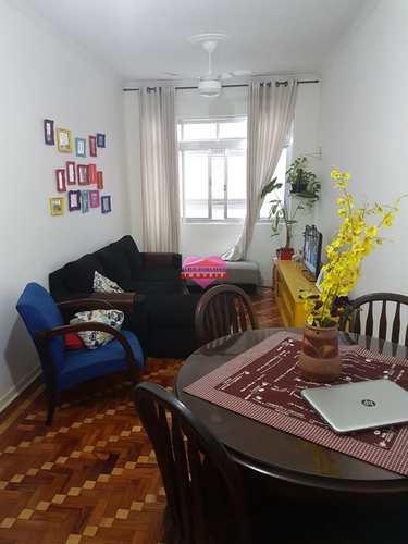 Apartamento, código 644 em São Vicente, bairro Centro