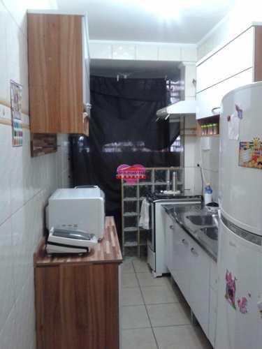 Apartamento, código 663 em São Vicente, bairro Centro