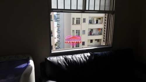 Apartamento, código 672 em São Vicente, bairro Centro
