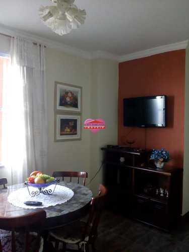 Apartamento, código 765 em São Vicente, bairro Centro