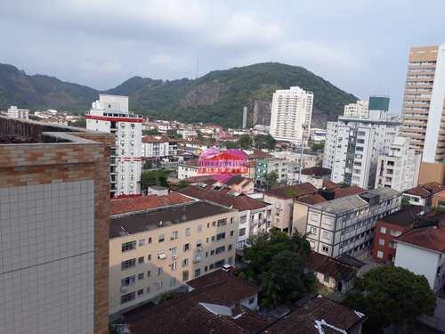 Apartamento, código 845 em São Vicente, bairro Centro