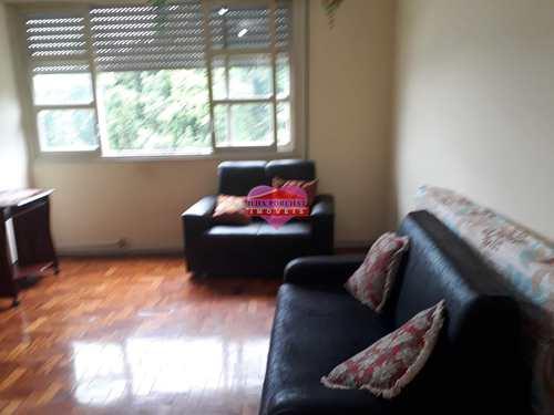 Sala Living, código 874 em São Vicente, bairro Centro