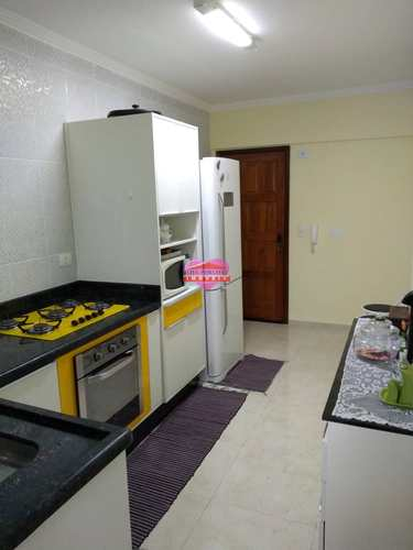 Apartamento, código 1075 em São Vicente, bairro Centro