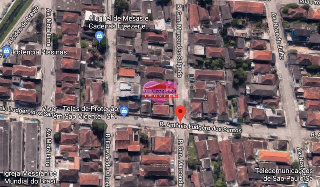 Terreno em São Vicente, bairro Vila Cascatinha