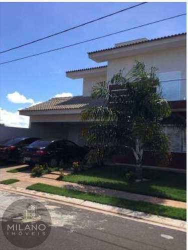 Casa de Condomínio, código 282 em Três Lagoas, bairro Recanto das Palmeiras