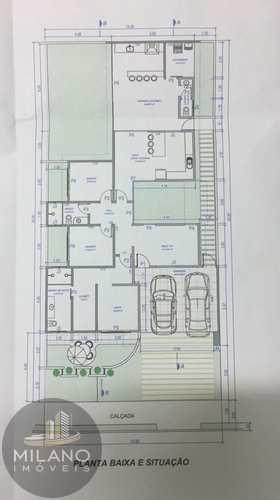 Casa de Condomínio, código 309 em Três Lagoas, bairro Recanto das Palmeiras