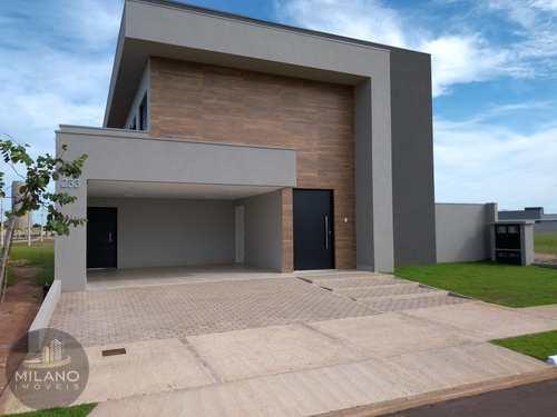 Casa de Condomínio, código 319 em Três Lagoas, bairro Residencial Villa Dumont