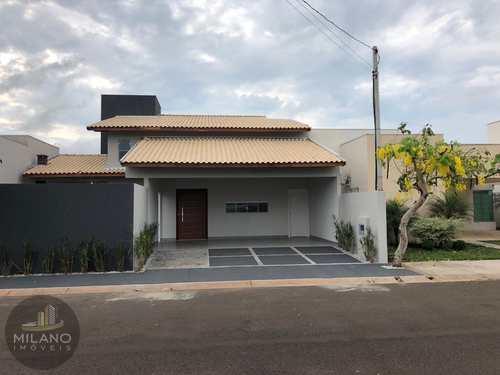 Casa de Condomínio, código 362 em Três Lagoas, bairro Recanto das Palmeiras