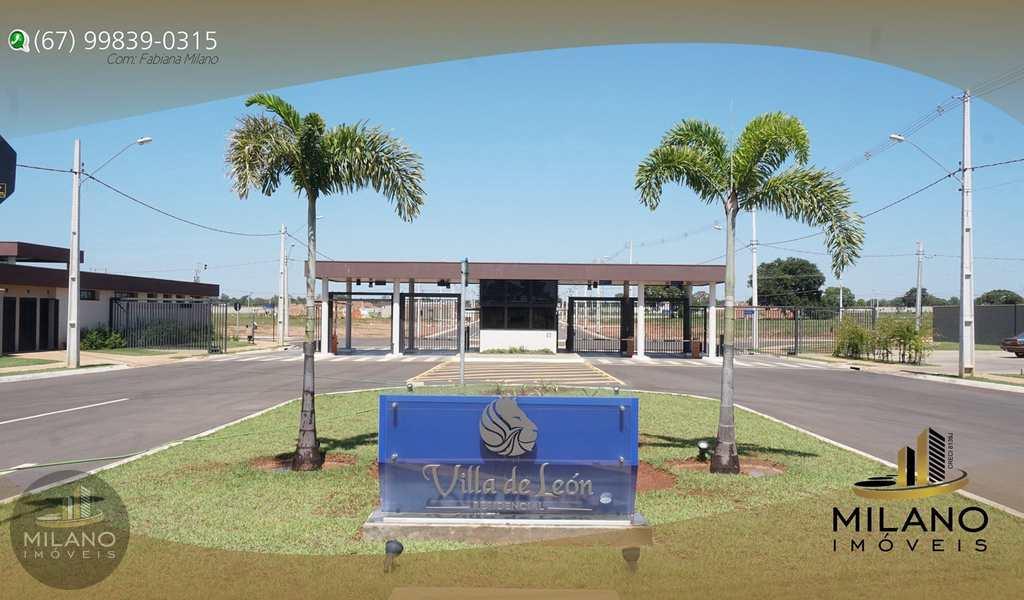 Terreno de Condomínio em Três Lagoas, bairro Condomino Villa de Leon