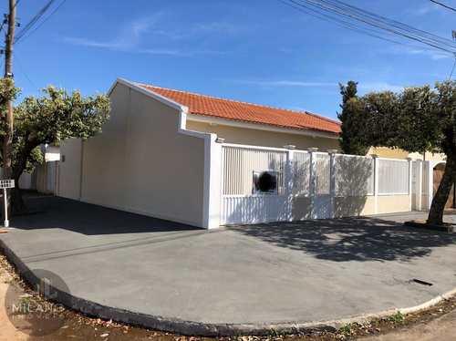 Casa, código 389 em Três Lagoas, bairro Santos Dumont
