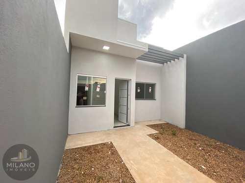 Casa, código 603 em Três Lagoas, bairro Parque Residencial Quinta da Lagoa