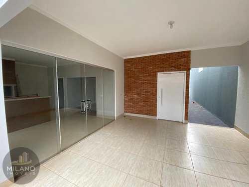 Casa, código 606 em Três Lagoas, bairro Parque das Mangueiras