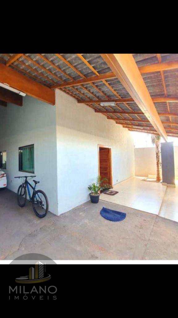 Casa em Três Lagoas, no bairro Nova Três Lagoas
