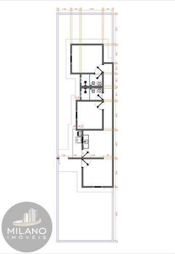 Casa, código 622 em Três Lagoas, bairro Setsul