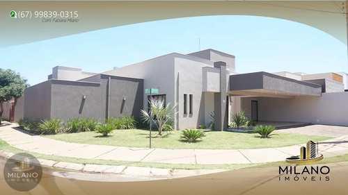 Casa de Condomínio, código 658 em Três Lagoas, bairro Recanto das Palmeiras