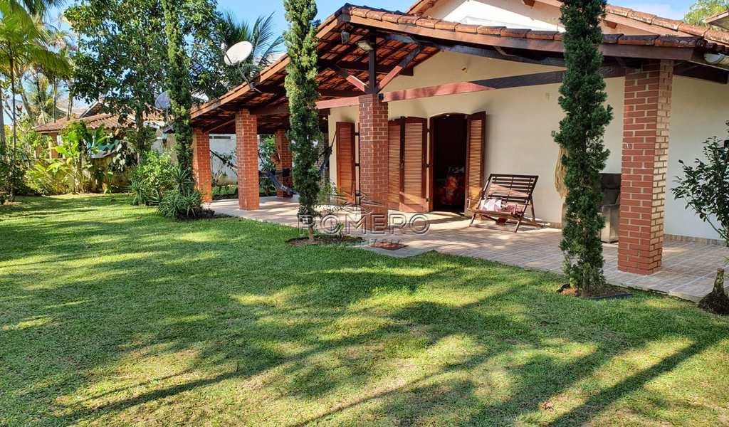 Casa em Ubatuba, bairro Praia do Sapê
