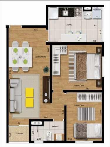 Apartamento, código 1226 em Guarulhos, bairro Cidade Parque Alvorada