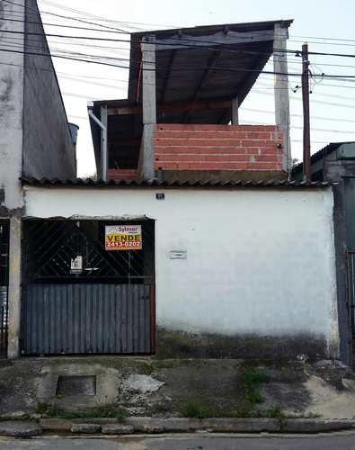 Casa, código 221 em Guarulhos, bairro Jardim São Manoel
