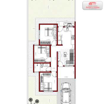 Casa de Condomínio em Ariquemes, bairro Apoio Rodoviário