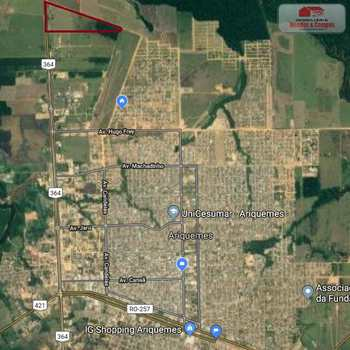 Terreno Rural em Ariquemes, bairro Apoio Br-364