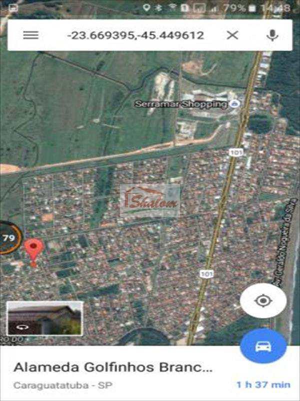Terreno em Caraguatatuba, no bairro Balneario Mar Azul