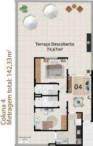 Apartamento, código 500 em Vitória, bairro Jardim da Penha