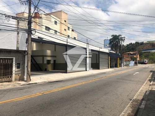 Galpão, código 317 em Mogi das Cruzes, bairro Vila Mogilar
