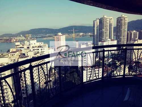 Apartamento, código 123 em Santos, bairro Ponta da Praia