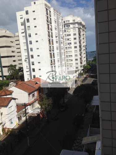 Apartamento, código 143 em Santos, bairro Aparecida