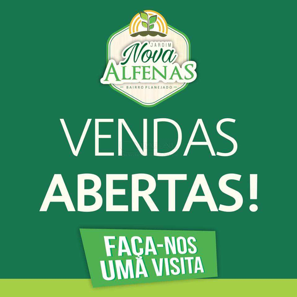 Loteamento em Alfenas, no bairro Nova Alfenas
