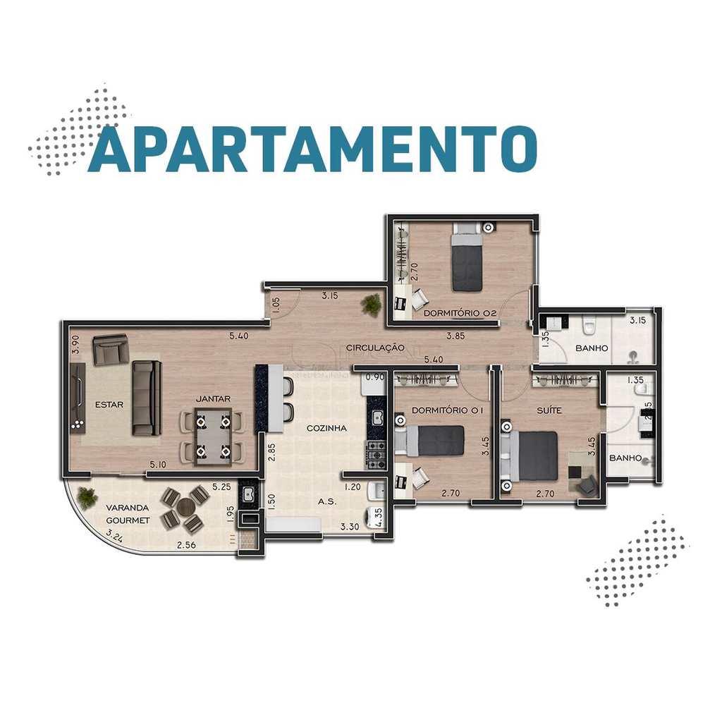 Apartamento em Alfenas, no bairro Centro